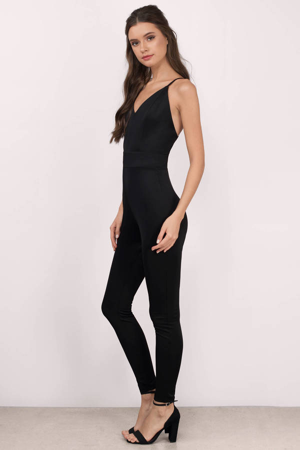 black jumpsuits mandy black knitted jumpsuit mandy black knitted jumpsuit ... KOUQLEE