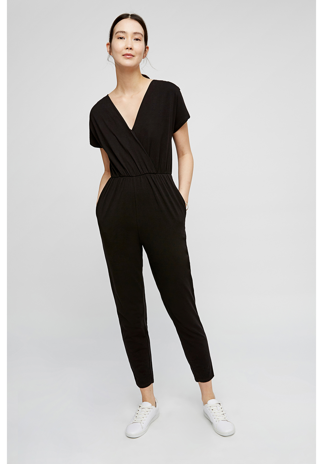 black jumpsuits oliana jumpsuit in black IGSLTIV