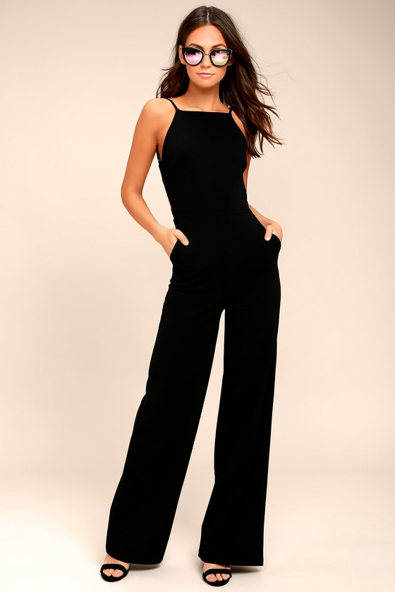 black jumpsuits something to behold black jumpsuit CLLGFYG