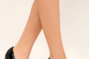 black patent heels astaire black patent pumps DXINBFH