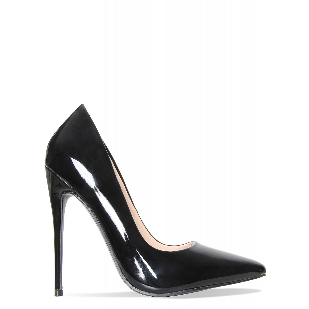 black patent heels simone black patent stiletto court shoes YTDZNDT