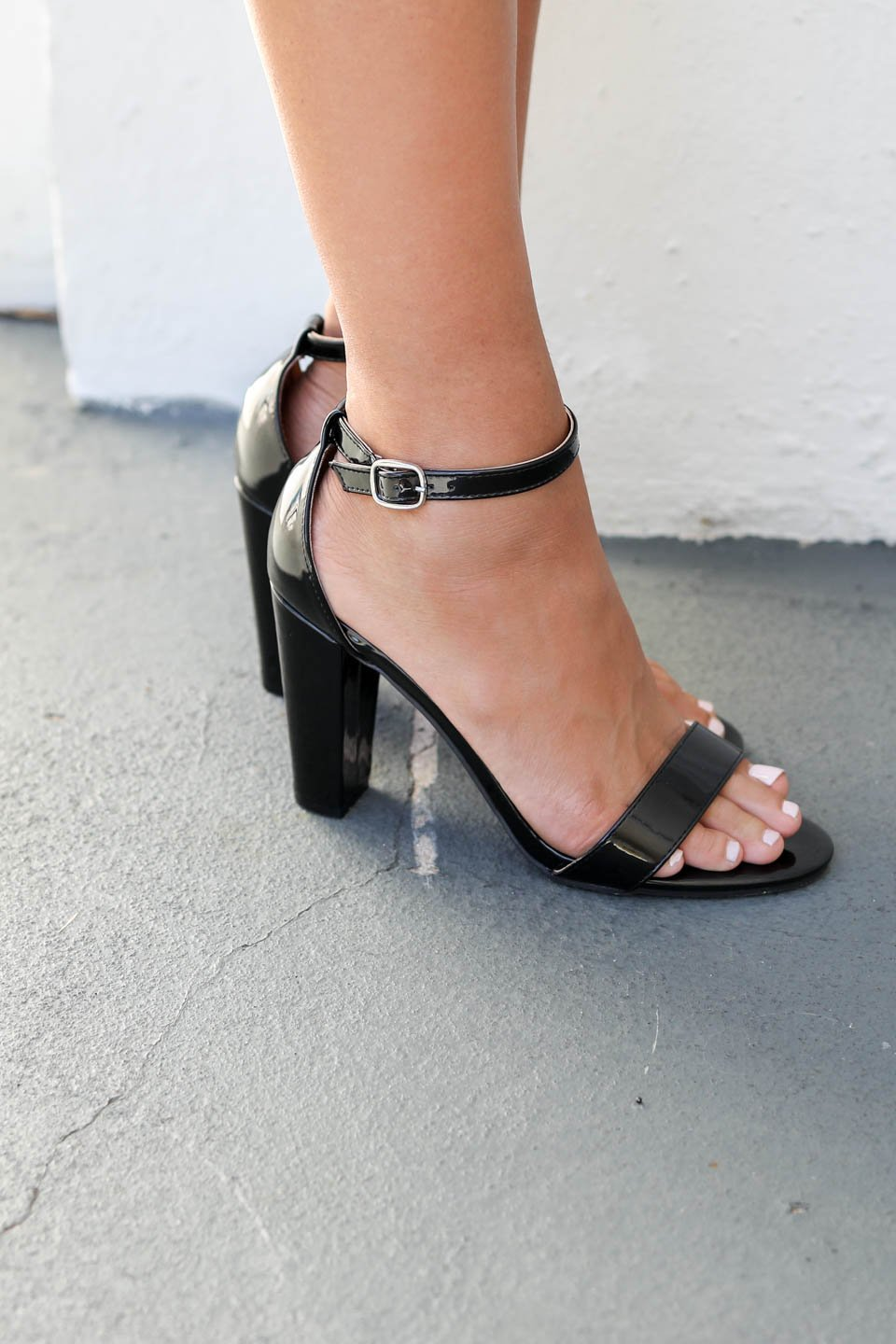 black patent heels ... take me dancing black patent leather heels - amazing lace ... BSJMSNH