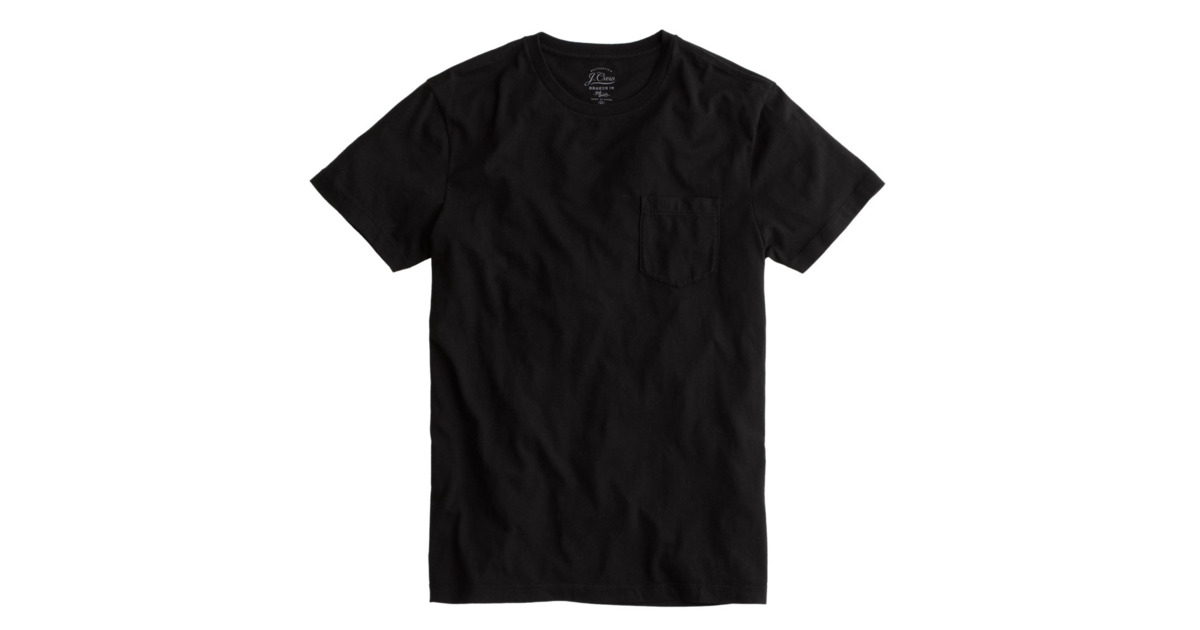 Black Shirts the best black t-shirt for men according to nick wooster KBMCLII