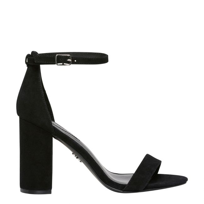 black suede heels indie black suede heel | womens heels | windsor smith shoes HYUELID