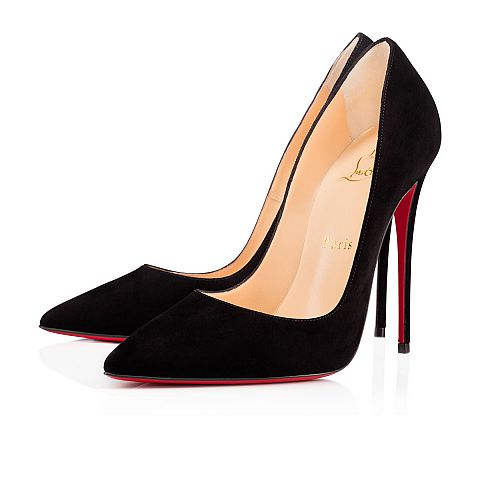black suede heels so kate 120 black suede - women shoes - christian louboutin VNEGSLQ