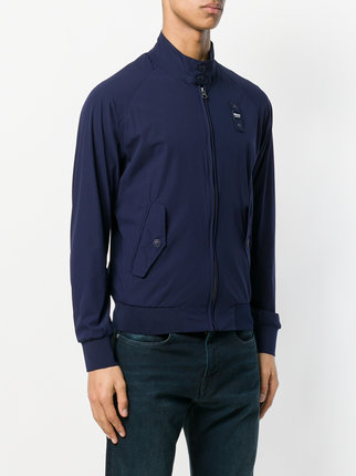 blauer jackets ... blauer casual zipped bomber jacket AFCHNAI