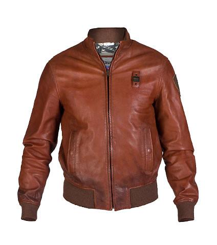 blauer jackets ... blauer - jackets - leather bomber jacket ... UCVMXWN