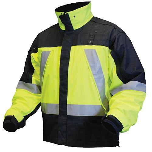 blauer jackets dark navy with hi-vis yellow OZYHIET