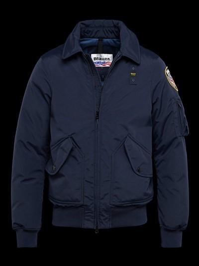 blauer jackets police taslan bomber jacket XRECJOY