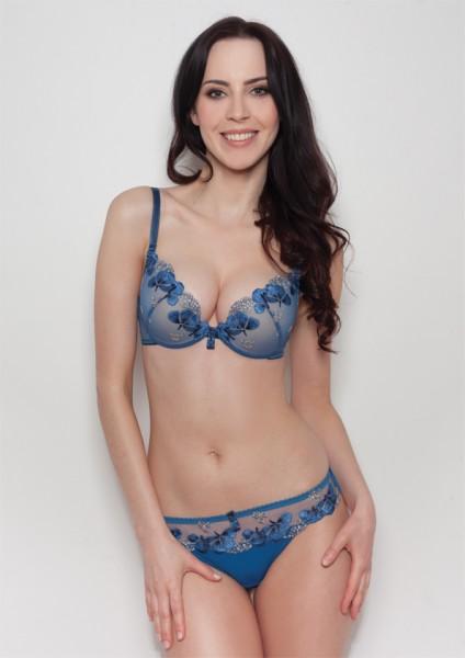 Blue Bra cora a479 royal blue bra SEUOCTQ