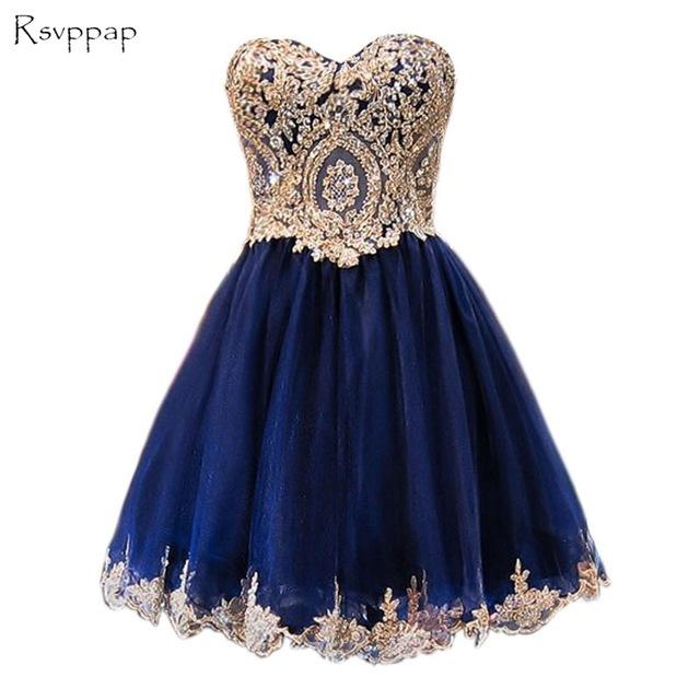 blue dresses sparkly a-line sweet 16 dresses lace short navy blue homecoming dresses 2018 ZGPHGJD
