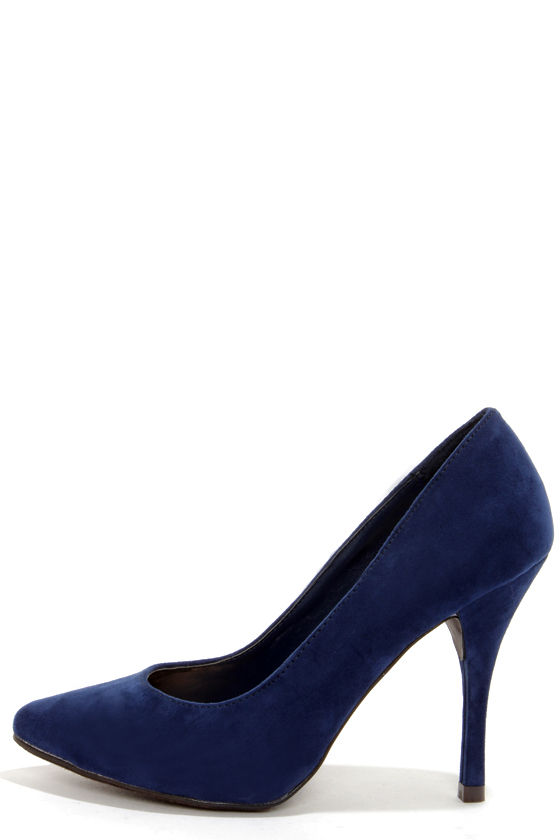 blue pumps holly 41 navy blue pointed pumps IASZKFV