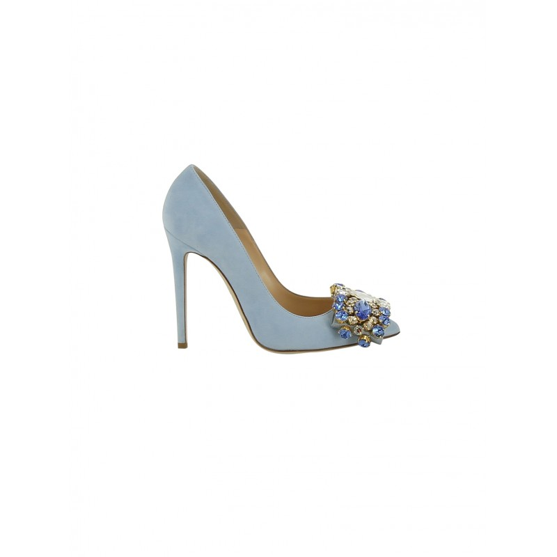 Blue suede pumps celes womenu0027s light blue suede pumps TZJCBAJ