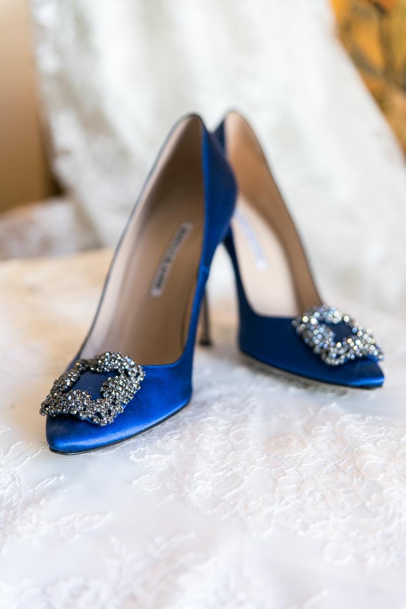 blue wedding shoes something blue manolo blahnik wedding shoes XXUJWEG