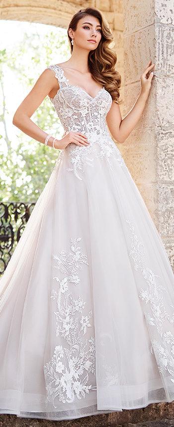 Blush Wedding Dresses 218207 rosetta by mon cheri ... AKIFEYU