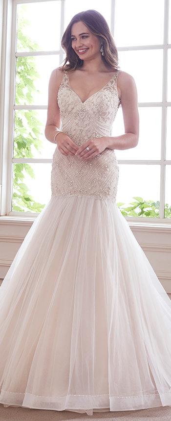 Blush Wedding Dresses y21811 kyanite by mon cheri ... PANSDOV
