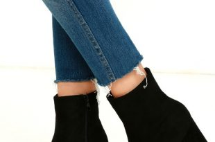 boots heels my generation black suede high heel mid-calf boots PDVQWSD