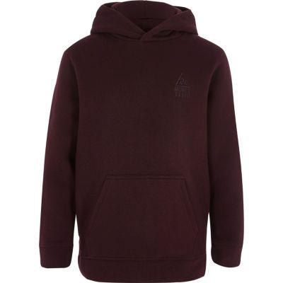 boys burgundy hoodie LFEONVY