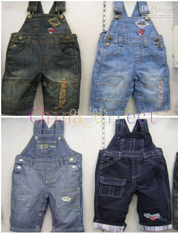 boys jumpers #9 hot jeans denim toddler jumper dress boys pants trousers girls skirts  jean overalls ARUNNDI