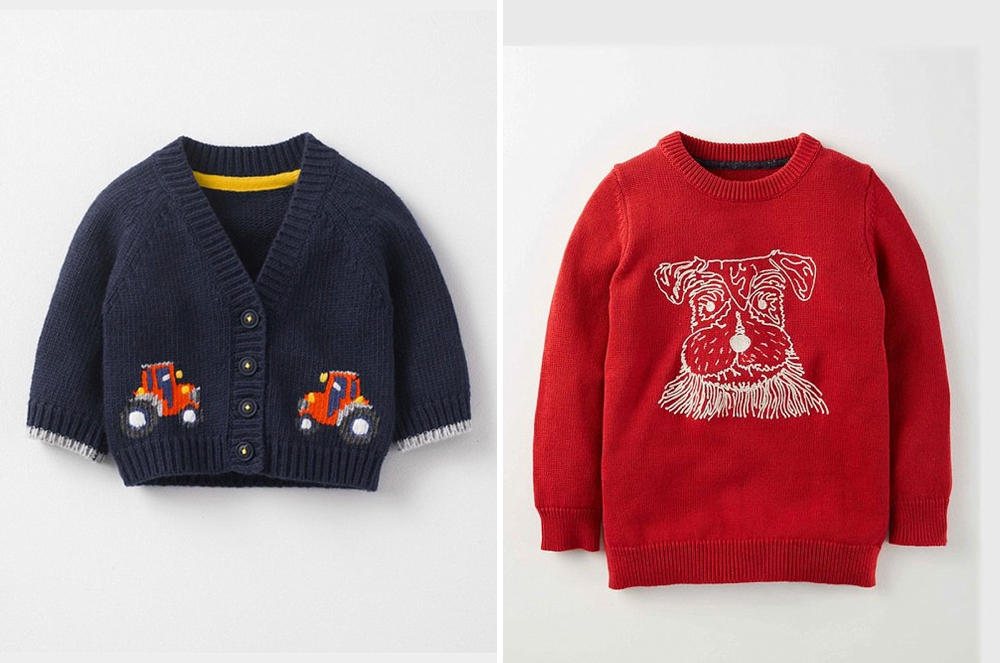 Getting the full bodied boys jumpers