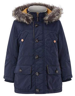 boys parka coats nat navy parka coat IRJSHDE