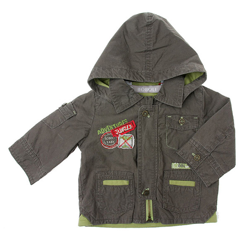 boys parka coats spring/summer » jackets/coats » boboli *safari* boys spring jacket PMUSFFD