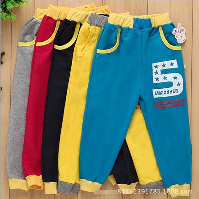 boys track pants children clothing 2-5t casual sport pant leisure track pants boys pants kids  winter trousers CJLAGEP