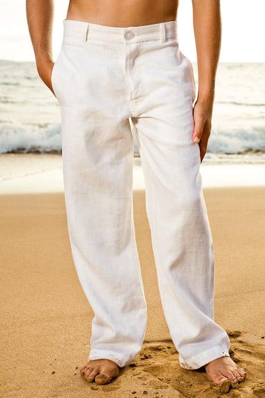 Boys white pants boyu0027s linen white italian pants beach wedding DXWLESE