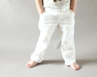 Boys white pants popular items for toddler boy pants RILCJOY