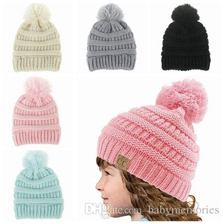 boys winter hats 2018 2017 kids winter hat baby hats caps boys wool knitted hats girl beanie USZQHNY