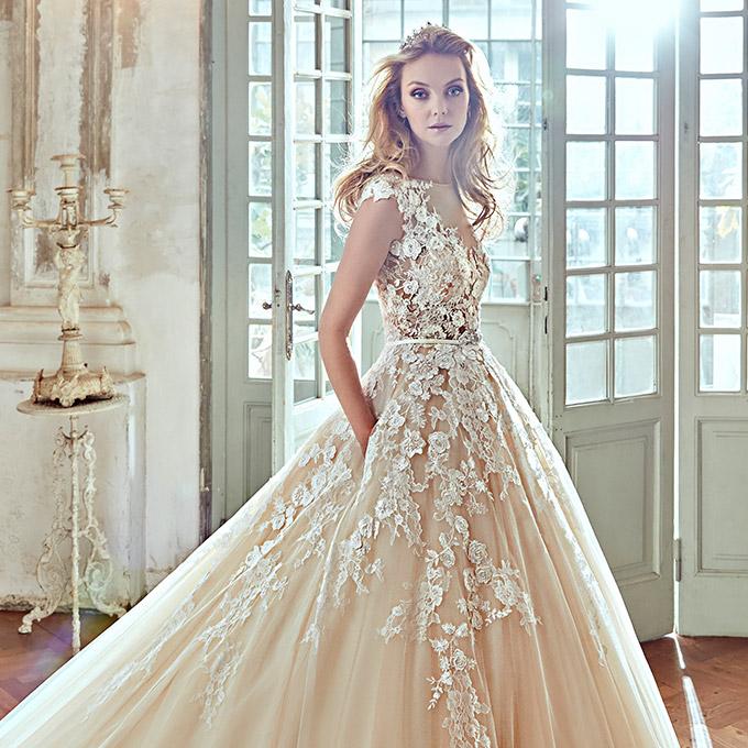 bridal dress nicole 2017 wedding dresses | wedding inspirasi YYRXMMF