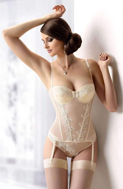 Bride underwear miette corset by gracya wedding lingerie - gracya - katys boutique TZHZYZW