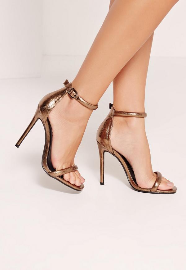 Look like a Model after Wearing Bronze Heels
