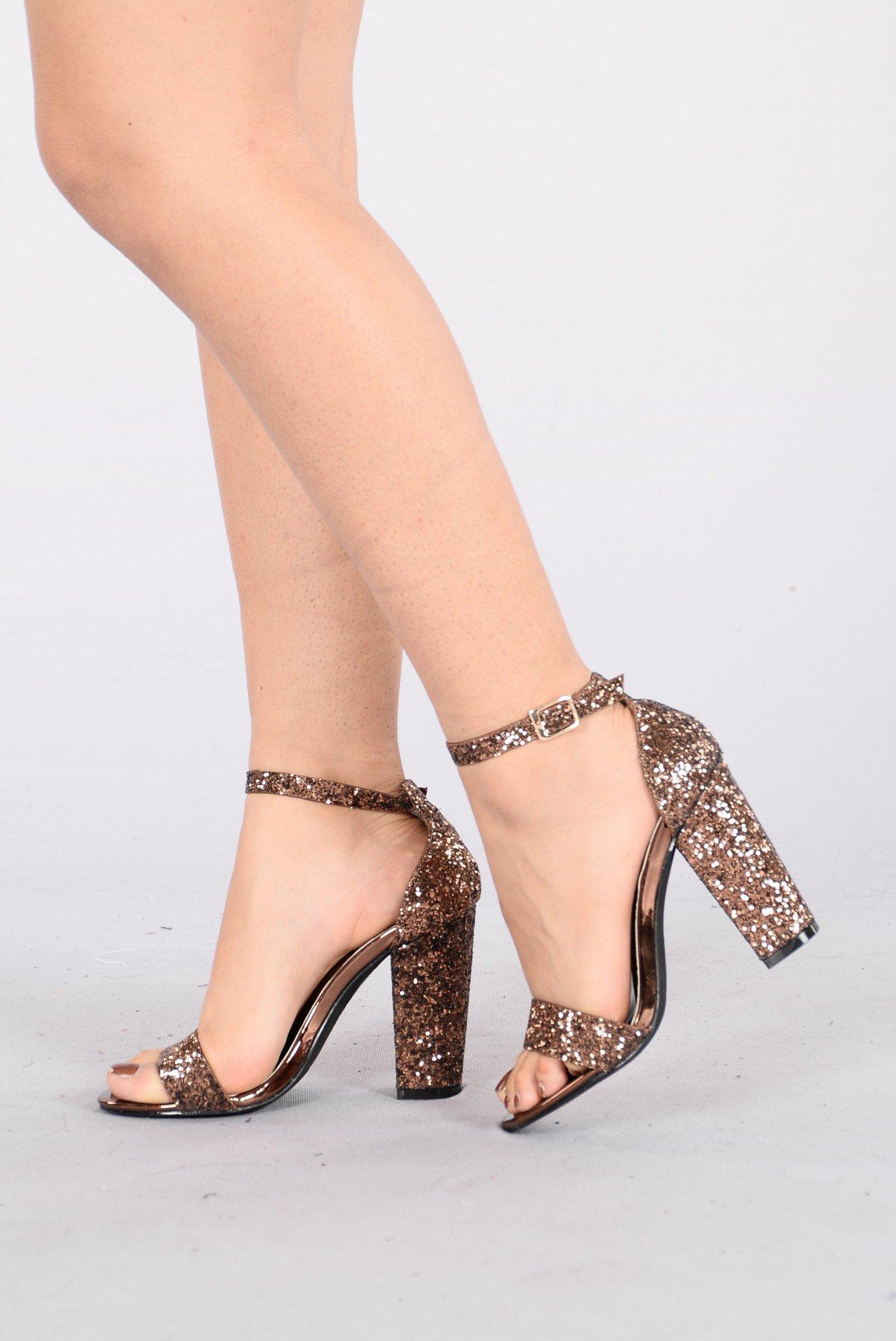 Bronze Heels party time heel - bronze UMFNIAN