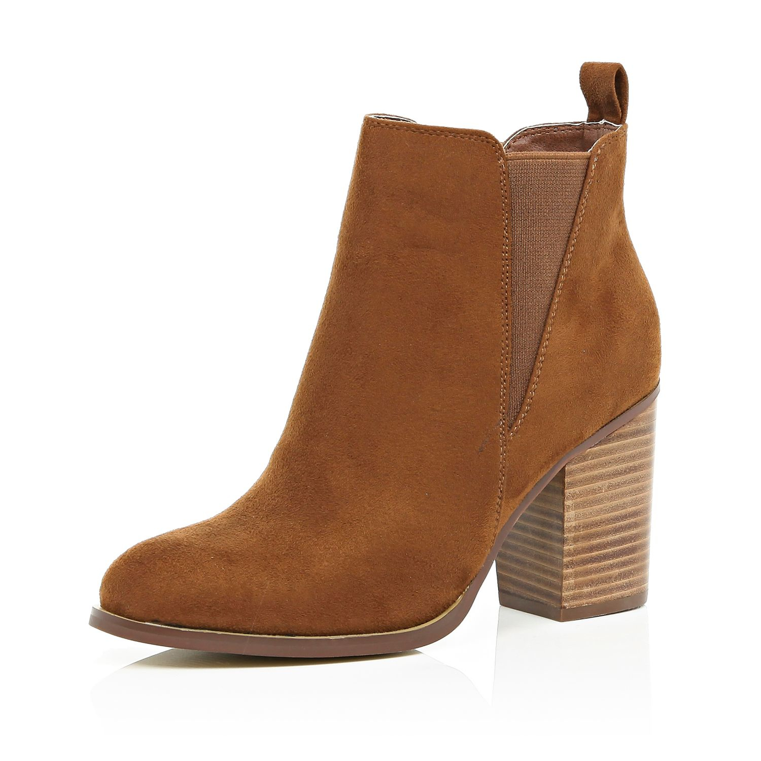 brown heeled boots gallery OMEZKYZ