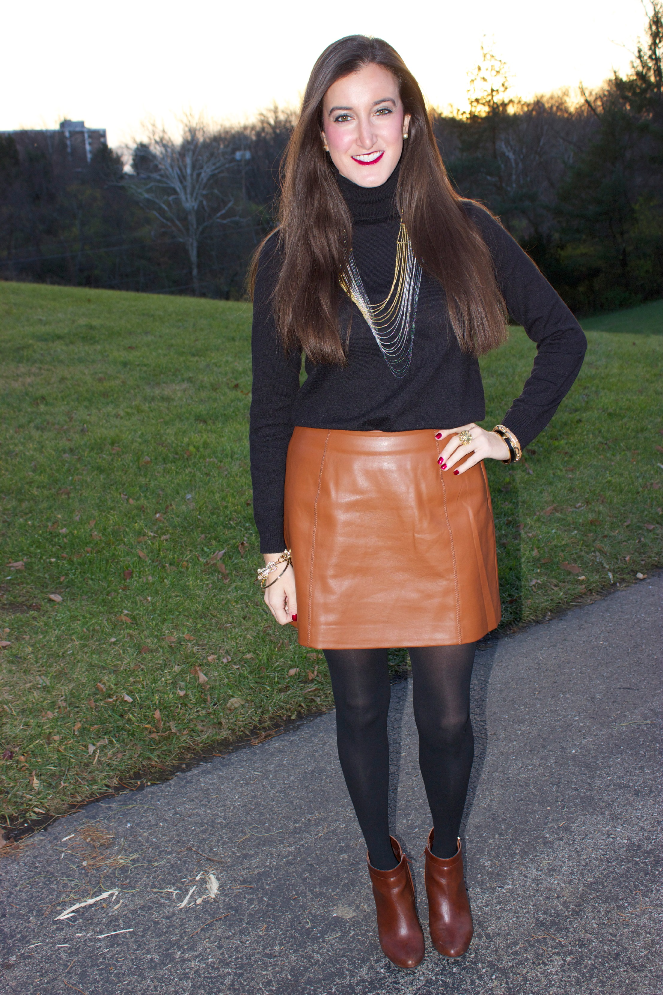 Brown Leather Skirt brown leather skirt QEDLTGU