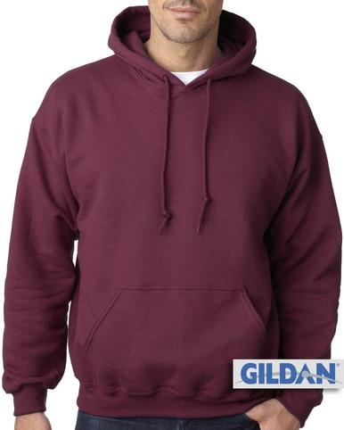 burgundy hoodie big menu0027s basic burgundy pullover hoodie by gildan VMNBTIZ