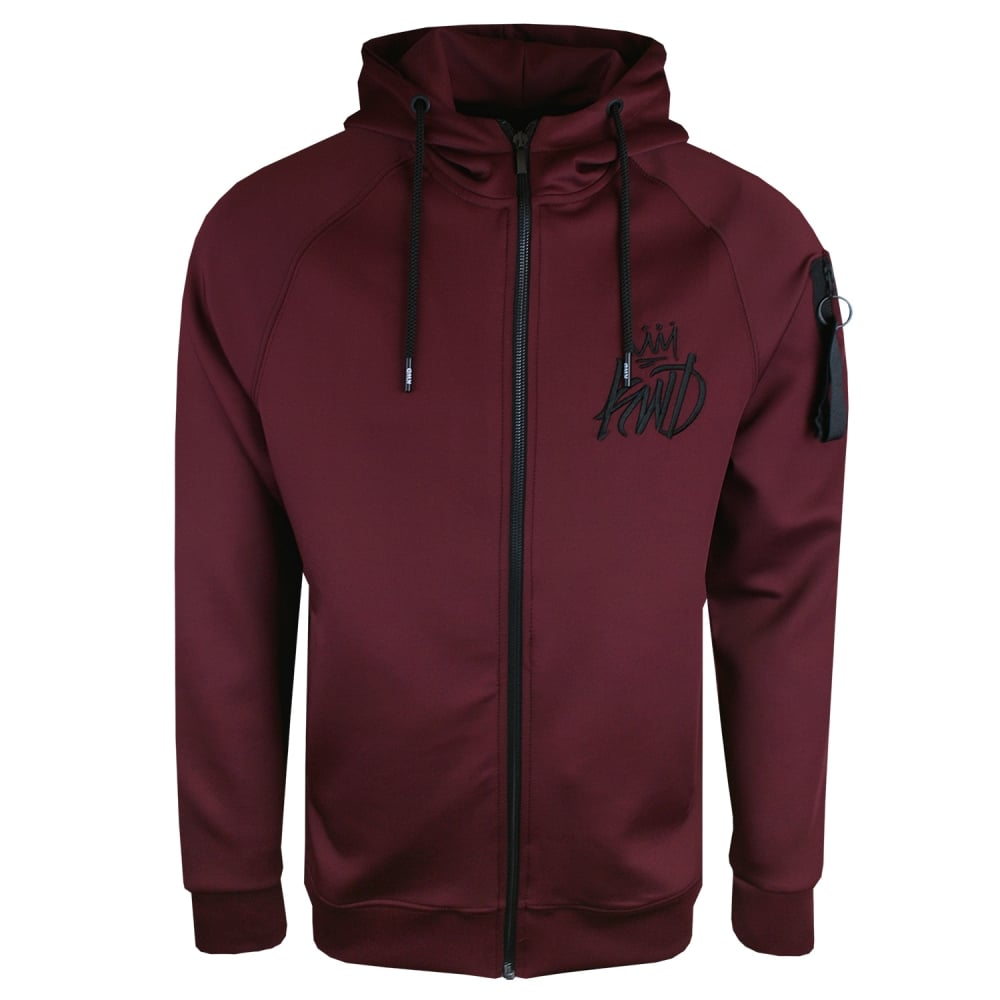 burgundy hoodie kings will dream zone zip hoodie burgundy LFMFNOS