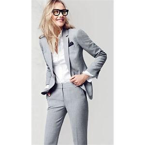 business wear for women image is loading light-gray-business-wear-for-women-tailored-2- NUBOZZD