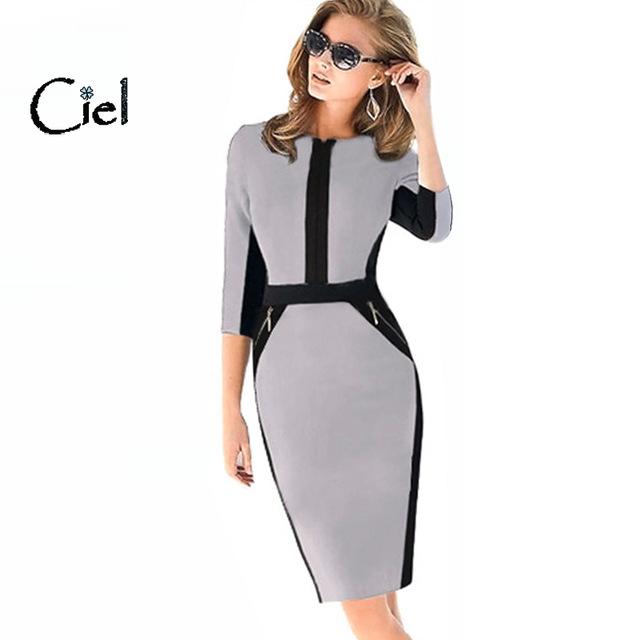 business wear for women winter dress pencil business wear women dress contracted style WCNLFTH