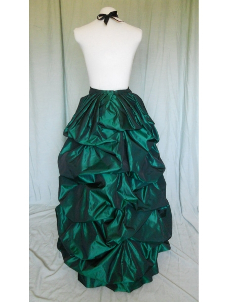 bustle skirts green taffeta victorian bustle skirt-in skirts from womenu0027s clothing u0026  accessories on aliexpress.com | EZKDZNC