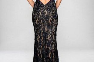 cachet dress ... cachet long formal lace dress evening gown - the dress outlet JRHETKM