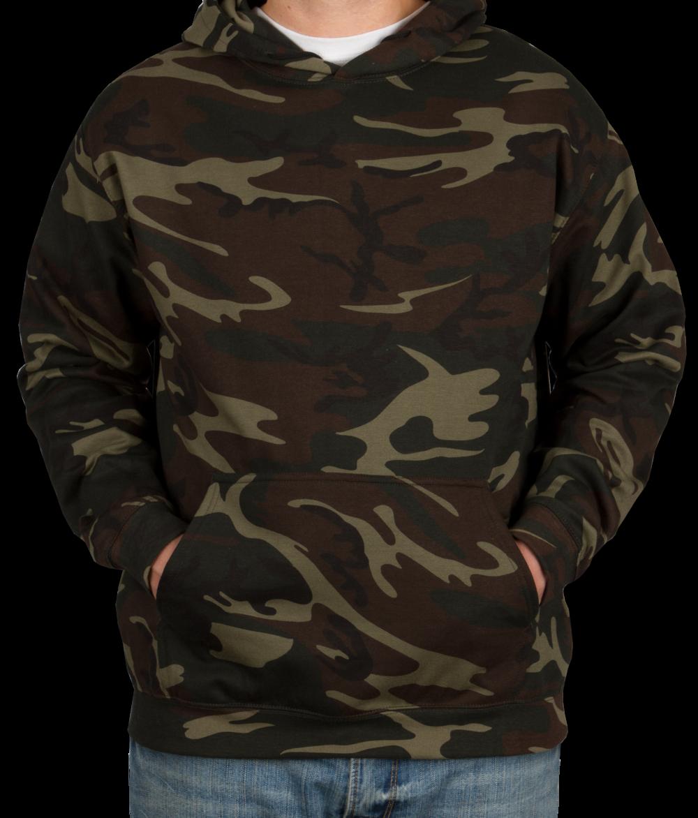 camo hoodie code 5 camo pullover hoodie - green woodland SZEPEYX