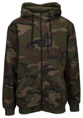 camo hoodie csg camo full zip hoodie - menu0027s TBWLDXG