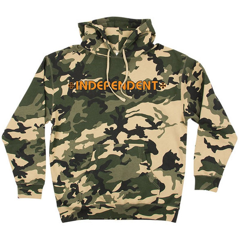 camo hoodie independent bar cross pullover hoodie - camo VGPLXXR