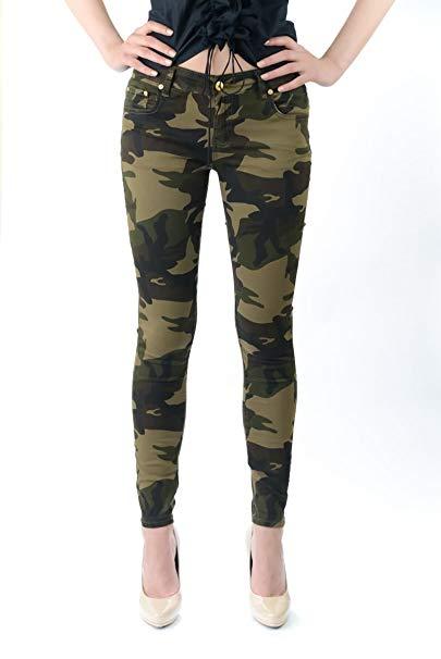 camo pants for women exocet womenu0027s camouflage pants (1) at amazon womenu0027s clothing store: jeans ECAOSBK