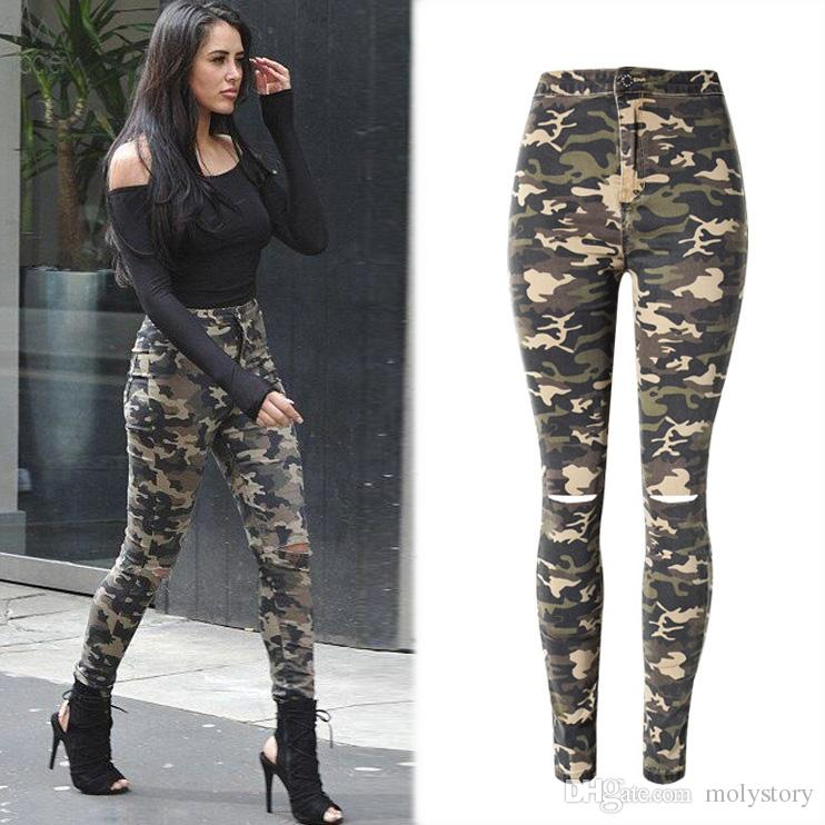 How to carry camo pants for women?