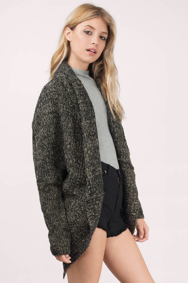 Cardigans for women comfort zone taupe cardigan comfort zone taupe cardigan ... PROXJHH