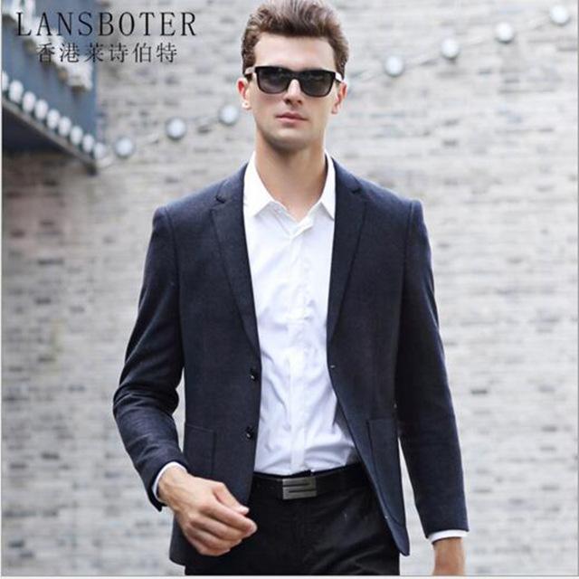 Casual suits lansboter brand suit 2017 new autumn menu0027s casual suit simple korean slim  menu0027s suits SPGEQJN