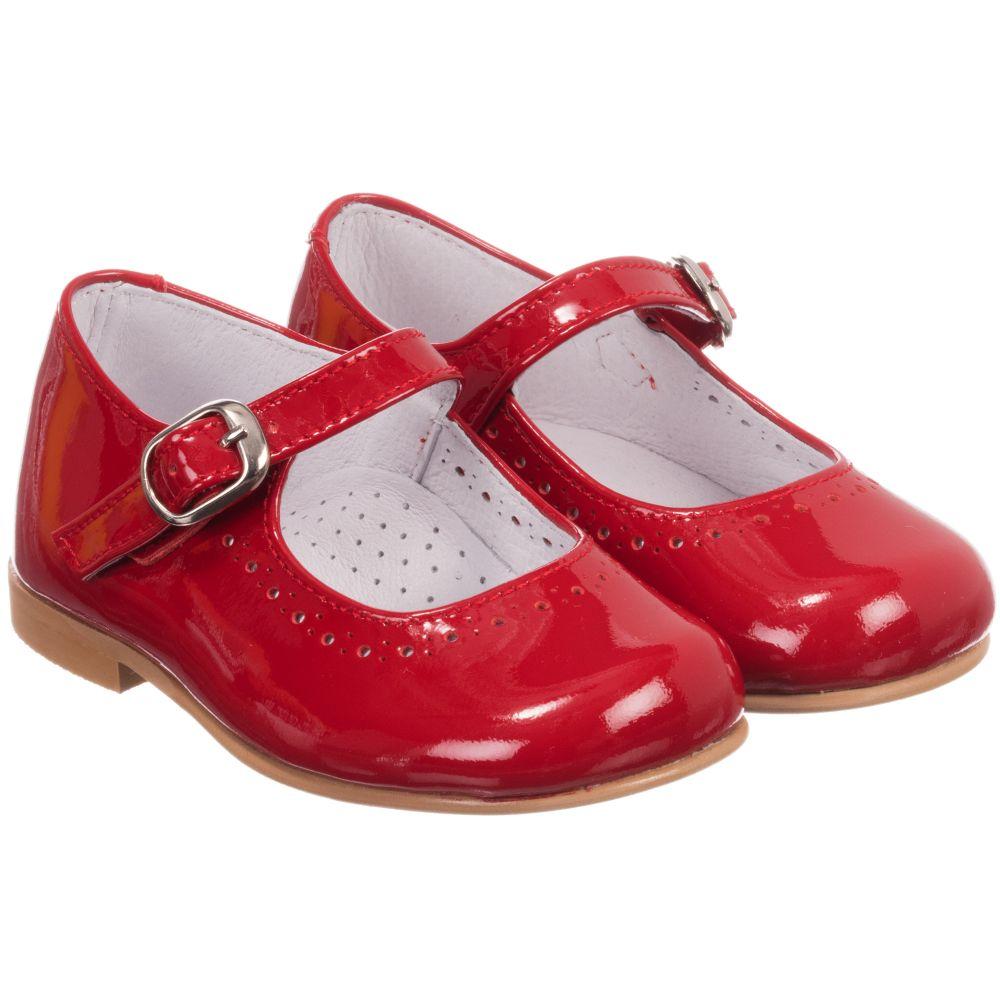 childrens shoes childrenu0027s classics - girls red patent mary jane shoes | childrensalon ZIWSRTM